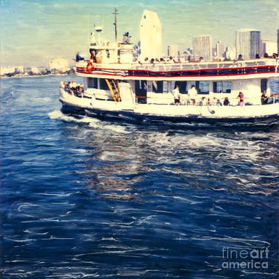 Coronado Ferry Poster