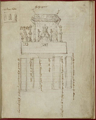 Coronation Of Anne Boleyn Poster by British Library