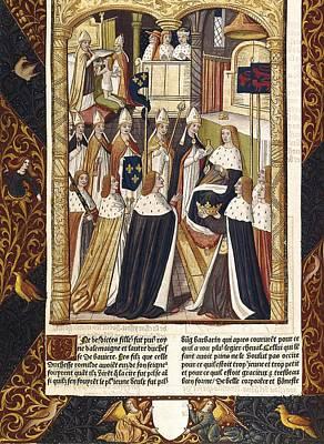 Coronation Of Ramhilde, Duchess Poster by Everett