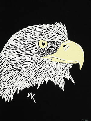 Correction Tape Eagle Poster by Nathan Shegrud