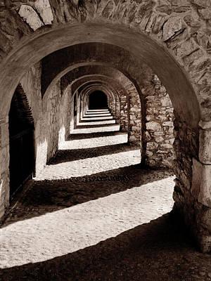 Corridors Of Stone Poster