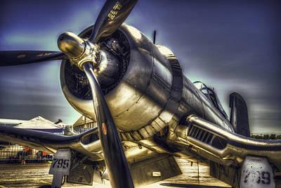 Corsair Airplane Poster