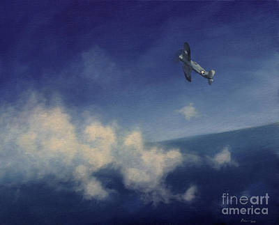 Poster featuring the painting Corsair by Stephen Roberson