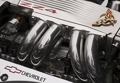 Corvette Zz4 Pristine Power Poster by Scott Campbell