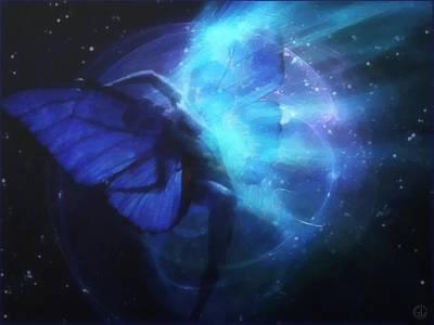 Cosmic Dance Of Joy Poster