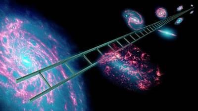Cosmic Distance Ladder Poster