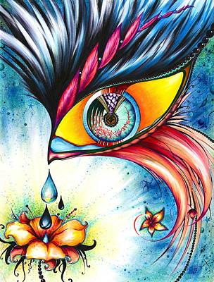 Cosmic Garden Poster by Andrea Carroll