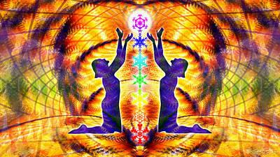 Cosmic Spiral Ascension 42 Poster