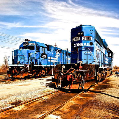 Cosmic Trains Poster by Frozen in Time Fine Art Photography