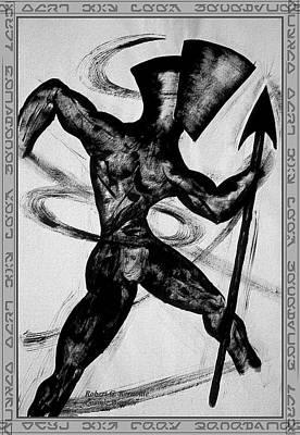 Cosmic Warrior Poster