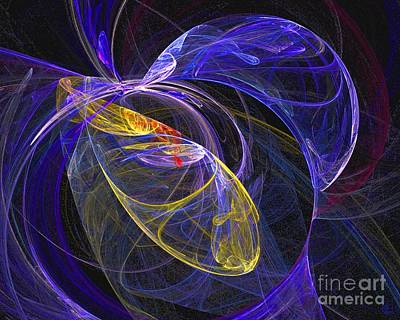 Cosmic Web 1 Poster