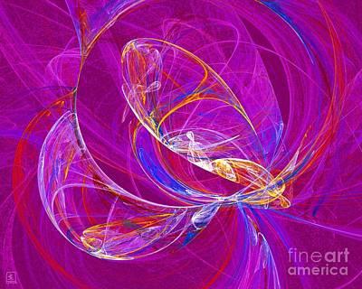 Cosmic Web 3 Poster