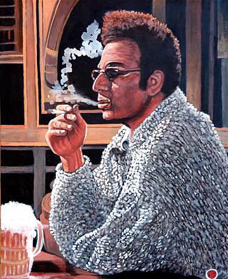 Cosmo Kramer Poster by Tom Roderick