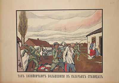 Cossack Villages Poster by British Library