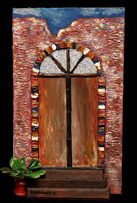 Costa Rican Doorway Poster