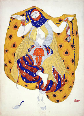 Costume Design For A Dancer Poster
