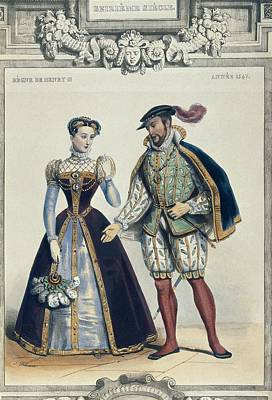 Costumes In France During The Reign Poster