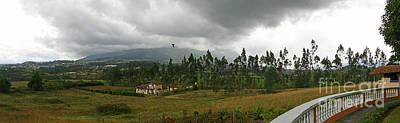 Cotacachi Panorama Poster