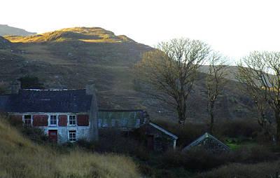 Cottage On Hillside Poster
