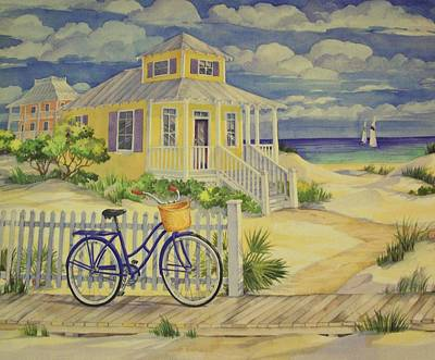 Cottage On The Beach  Poster by Movie Poster Prints