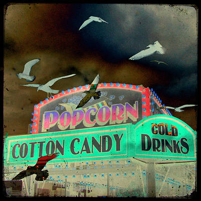 Cotton Candy Poster by Gothicrow Images