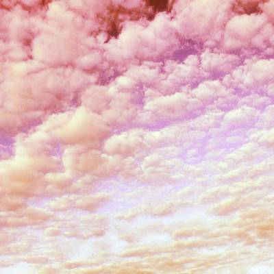 Cotton Candy Sky Poster by Marianna Mills