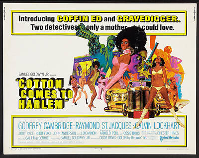 Cotton Comes To Harlem Poster Poster by Gianfranco Weiss