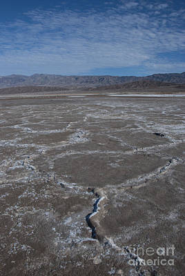 Cottonball Basin At Death Valley Poster