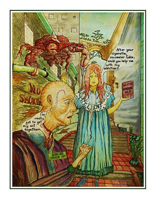 Counselor Eddie Smokes Poster by Michael Shone SR