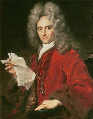 Count Alois Thomas Raimund Von Harrach 1669-1742 Poster