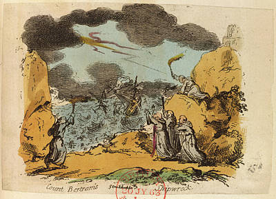 Count Bertram's Shipwreck Poster
