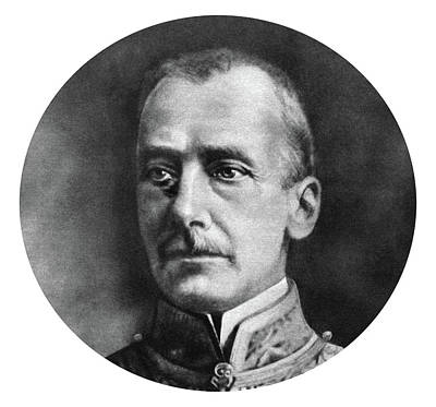 Count Ottokar Von Czernin Poster