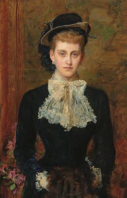 Countess De Pourtales Poster by Sir John Everett Millais