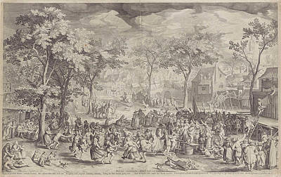 Country Fair, Ca. 1610 Poster