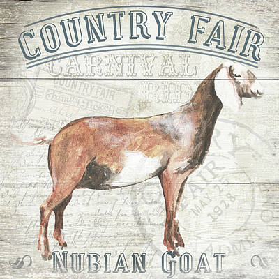 Country Fair Poster by Gail Fraser