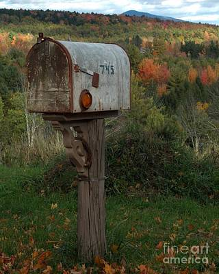 Country Mail Box Poster