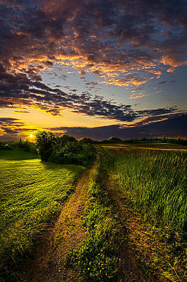 Country Roads Take Me Home Poster by Phil Koch