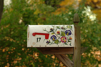 Countryside Mailbox #16 Poster by Robert DeFosses