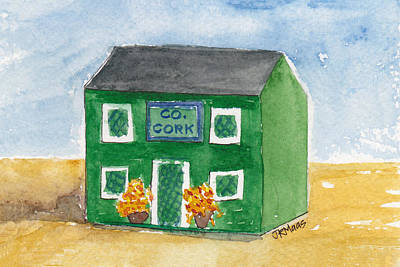 County Cork Poster by Julie Maas