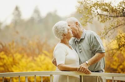 Couple Enjoy A Kiss Poster