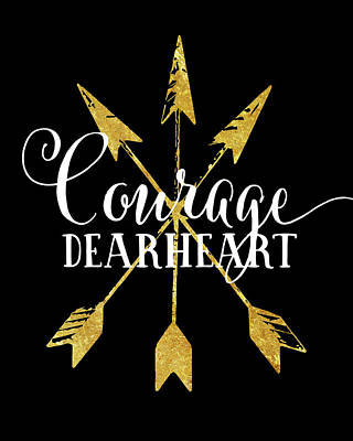 Courage Dearheart Poster