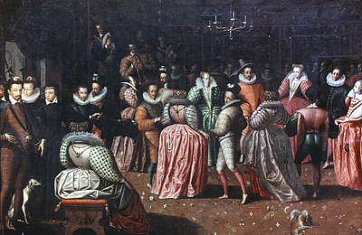 Court Ball, 16th Century Poster by Granger