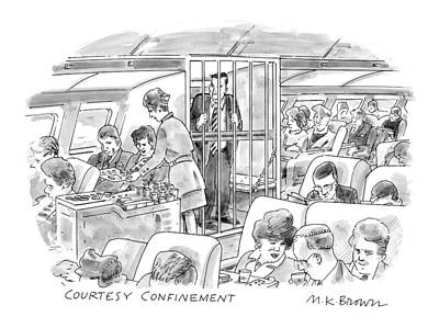 'courtesy Confinement' Poster