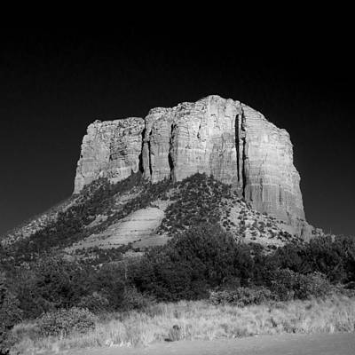 Courthouse Butte Sedona Poster by Chris Bordeleau