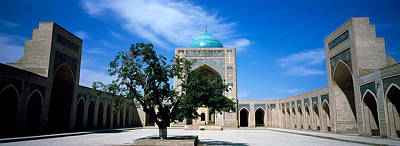 Courtyard Of A Mosque, Kalon Mosque Poster by Panoramic Images
