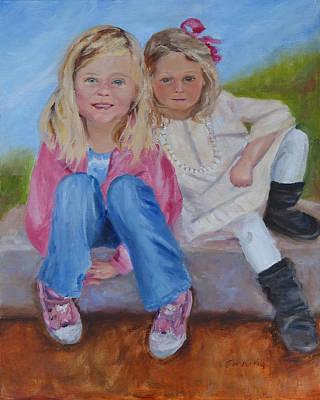 Cousins Poster by Carol Berning