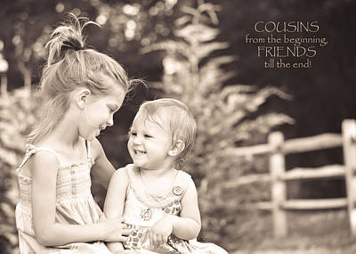Cousins Poster by Trish Tritz