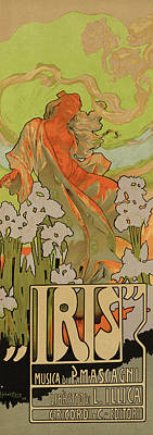 Cover Of Score And Libretto For Iris Poster