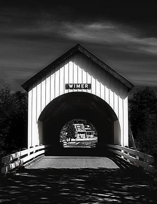 Covered Bridge Poster by Melanie Lankford Photography