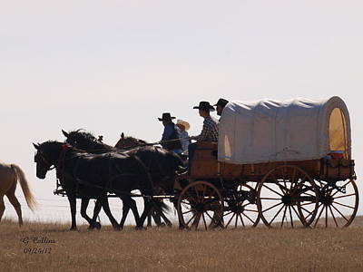 Covered Wagon Poster